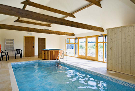 Exclusive use pool, sauna and hot tub